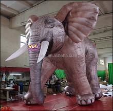 Giant inflatable ELEPHANT/5M/customize inflatable animal character