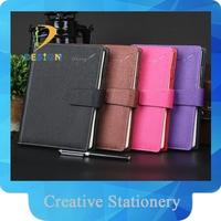 YIWU factory Custom Hardcover Paperback Promotion PU Notebook
