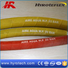 Colorful Textile Reinforced Air Hose/wrapped cover air water hose