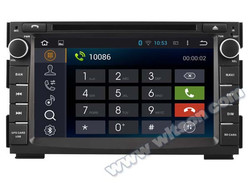 WITSON Android 4.4 FOR KIA CEED DOUBLE DIN GPS 2010-2012 1080P HD VIDEO 1.6GHZ Frequency DVR 3D MAP