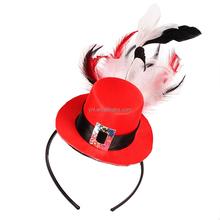 Christmas Gift 2015 Hot Sell Fashion flower headband for Christmas Ornament