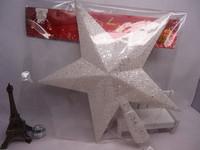 White Plastic Christmas Decorations The Christmas Tree Top Stars