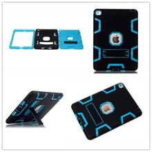 3 in 1 hybrid robot stand case for ipad air2,for ipad air 2 waterproof case