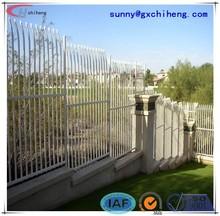 estados unidos diseños baratos valla de hierro forjado