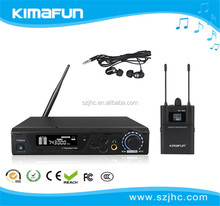Up To 200m Line Of Sight Operating Range Wireless In-Ear Monitoring System For Instruments