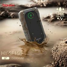 Houny waterproof, dustproof, drop-resistant power bank 15000mAh/portable charger