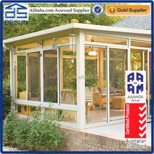 portable energy-saving luxury flat roof sunroom