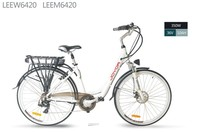 europe electric city bike for woman green city electric bike battery green city bike LEEW6420