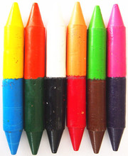 office&school supplies high quality non-toxic wax crayons oil pastel