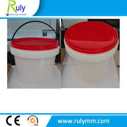 2L high transparency small size food grade plastic containers