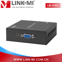 LINK-MI LM-VH03 Adapter Component Composite Mini VGA 2 HDMI Converter Box 1080p@ 60Hz