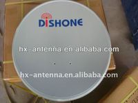 KU band satellite dish antena
