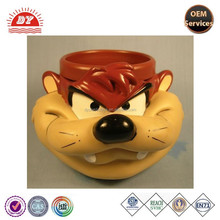 150 ml 3D mug cup, 3D lonney tunes plastic mugs