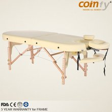 COMFY CF-OVAL Wooden Portable Physical Therapy Table
