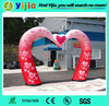 Hot sale cheap inflatable wedding arch