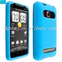 Light Blue Silicone Case/Cover/Skin for HTC EVO 4G