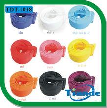 TIANDE COLORFUL PLASTIC CASUAL Silicone Rubber Belt