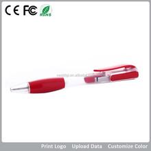 Colorful Plastic Usb Pen Drive with Logo Printing, Bulk Ballpen Usb Memory Stick