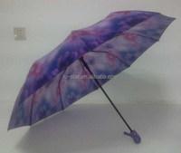 FS outdoor umbrella sun rain umbrella parasols gift folding umbrellas heat transfer print umbrella
