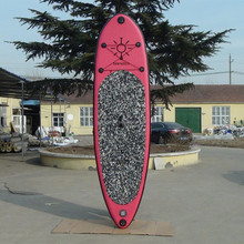 pink inflatable surfboard/stand up paddle longboard/pink inflatable sup board