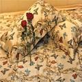 venta caliente mariposa 3d de impresión de conjunto ropa de cama