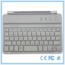 best selling portable rubber bluetooth keyboard for 7.9'' ipad mini