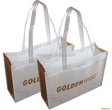 BSCI Audit factory bag / custom printed shopping bag / long handle non woven cloth bags