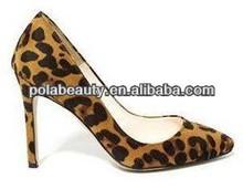 2014 leopard sexy zapatos de vestir las mujeres hermosas de zapatos zapatos de tacón alto py2781