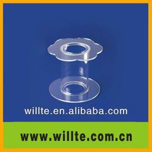 Simple and elegant cylinder acrylic/PMMA cake shelf