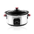 5.5l olla de cocción lenta para uso en el hogar xj-13220b