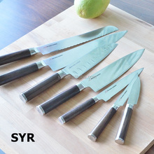 Rosewood handle Japanese Kitchen Knives