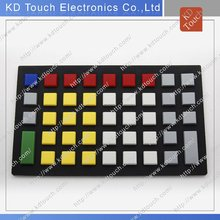 Customized Silicone Rubber keyboard
