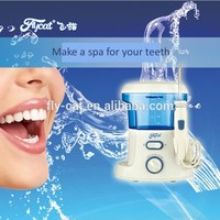 new product water flosser , water jet cleaner with 7 pcs tips ,high pressure pulse irrigator