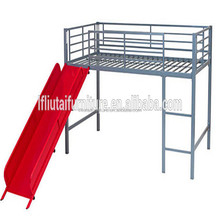 popular kids furniture bunk bed with slide