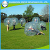 2015 most popular clear football inflatable ball body zorb