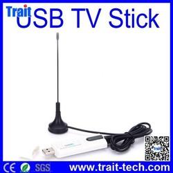 Digital Satellite DVB T2 USB TV Stick Tuner with Antenna, Remote HD TV Receiver for DVB-T2/DVB-C/FM/DAB