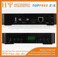 topfree z5s apoyo del receptor de youtube iptv decodificador satelital para américa del sur azfox z5s receptor satelital