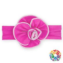 Baby headband vintage headbands handmade DIY roses Hair Bands Infants Toddlers Girls hairband Flower Hair Bows