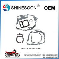 MOTORCYCLE TOP GASKET SET FOR MODEL YUMBO DAKAR200