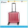 hot sale colorful small size suitable ABS carry on trolley luggage bag