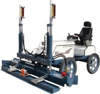 Ride-on concrete laser screed on sale