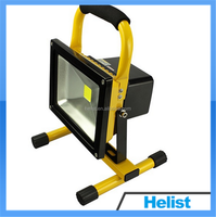 Newest 20w portable rechargeable led flood light for boating