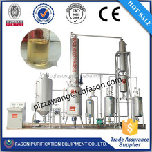 high experience big engineer team lube oil recycling refinery