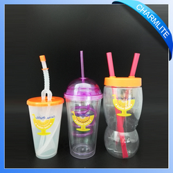 hard plastic disposable cups disposable colored plastic cups Disposable Juice Cup (DC004)