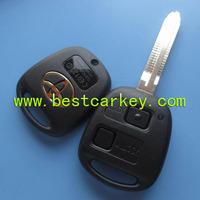 Topbest remote replacement key shell for toyota prado remote key toyota prado key 2 buttons
