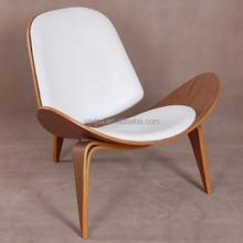 modern designed Hans Wegner Shell Chair