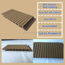 ECO friendly decor materials WPC outdoor composite laminate panel sheets