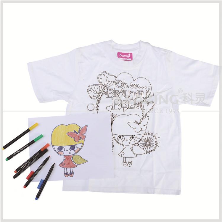 Kearing diy drawing t shirt transfer printing pen can not for Diy tee shirt printing