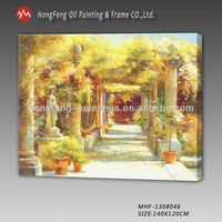 decoration wall scenery painting fabric painting designs images
