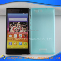 new products glossy soft tpu mobile phone cover for micromax Canvas Nitro 2 E311